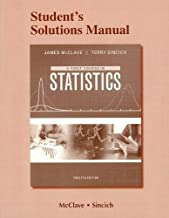 Student's Solutions Manual for A First Course in Statistics