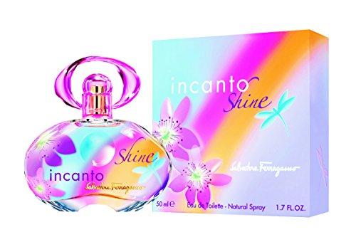 Salvatore Ferragamo Incanto Shine 50 ml EDT Spray, 1er Pack (1 x 50 ml)