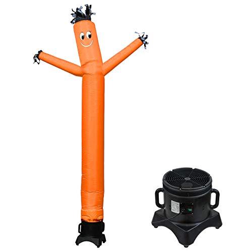MOUNTO 10ft Sky Puppet Dancer with Blower Complete Set (Orange)