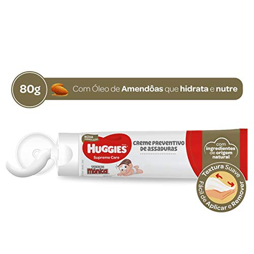 Huggies Creme de Assaduras Supreme Care, 80g