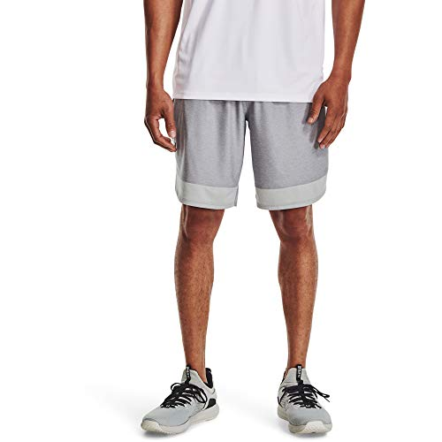 Under Armour Men's Training Stretch Shorts , Mod Gray (011)/Black , 3X-Large