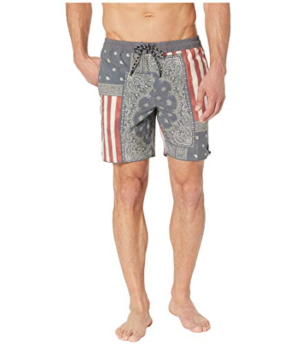 O'NEILL Patches Volley Cruzer Swimshorts Red/White/Blue LG (34-36