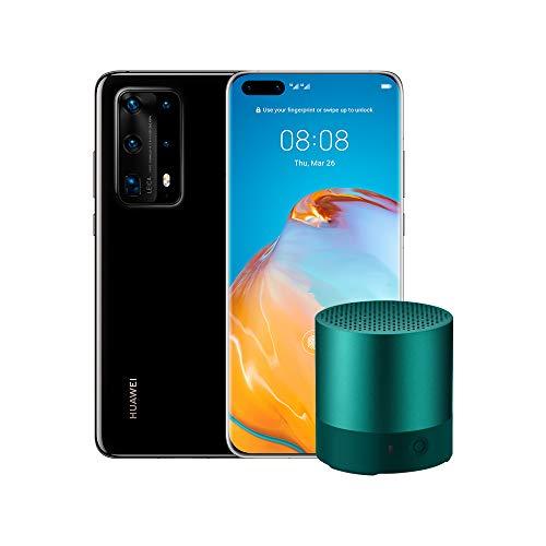 "Huawei P40 Pro Plus, Bluetooth MiniSpeaker, Acoustic Display da 6.58"", 8 GB+512 GB di Memoria, Nero (Versione Italiana)"