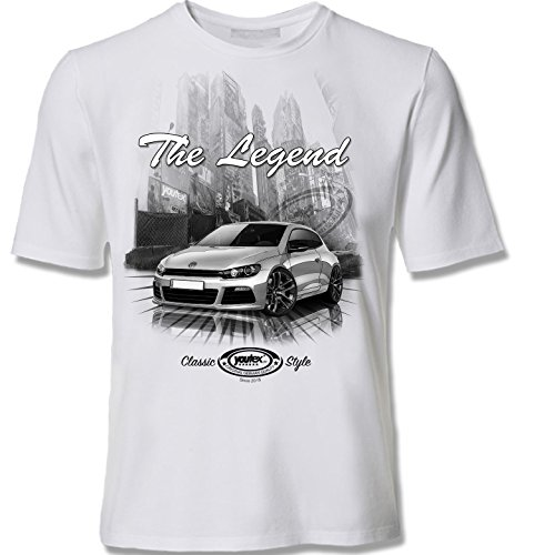 youtex Scirocco 3 Black and White T Shirt (S)