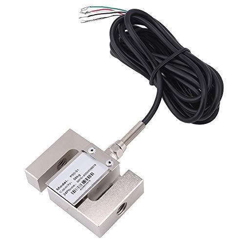 Weegsensor, S-TYPE Uiterst nauwkeurige weegschaal weegsensor Weegsensor met kabel (100 kg)