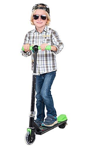 eFlux Flash Elektroroller Scooter - 100 Watt Motor - Bis 6 km/h - 4 Km Reichweite - Nur 3,5 Kg Gewicht - E-Scooter für Kinder