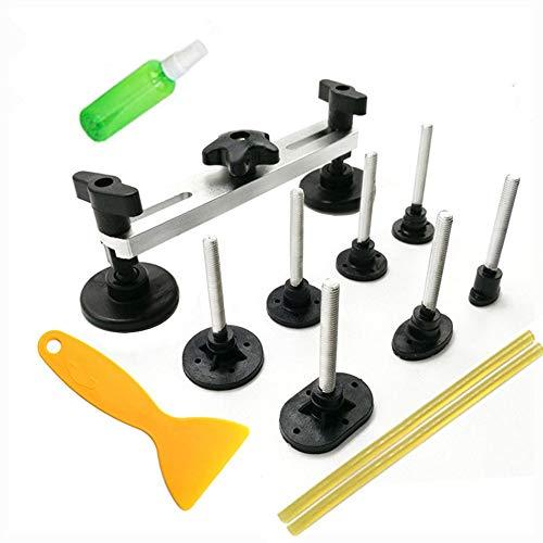 RAQ Auto Repair Tool Set PDR Tool Kit Pijnloze Dent Verwijdering Auto Body Repair Kit Trekken Bridge Dent Puller Lijm Verwijderen