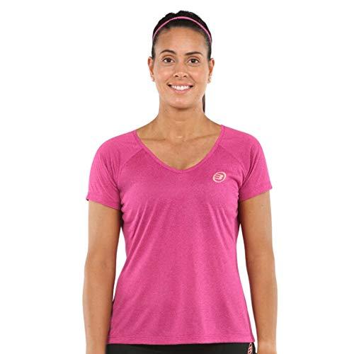 Bull padel Eilo 117 Camiseta, Mujer, Rosa, 2XL