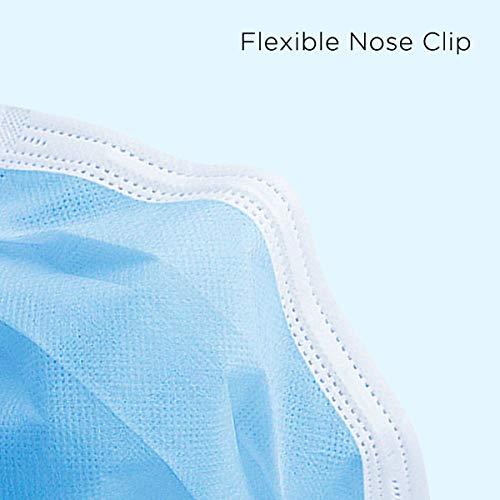 50 St. OP Masken Typ IIR (CE) Medizinische Mundschutz Einwegmaske 3-lagig Atemschutzmaske TÜV geprüft EN 14683:2019 BEF ≥ 99.4% - 3