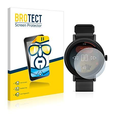BROTECT Schutzfolie kompatibel mit Misfit Vapor 2 (41 mm) (2 Stück) klare Bildschirmschutz-Folie