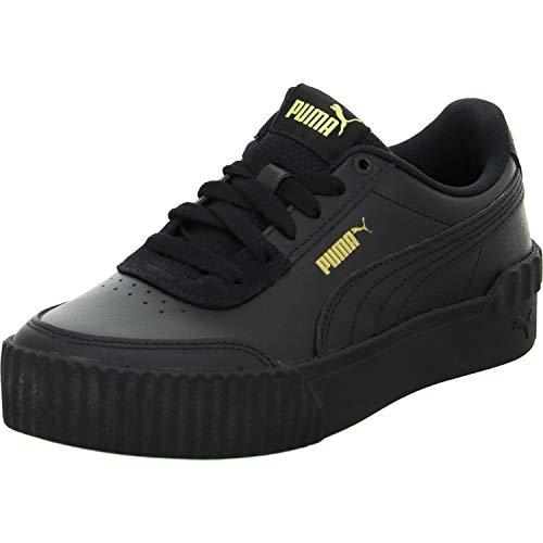 PUMA Damen Carina Lift Sneaker, Schwarz Schwarz, 39 EU