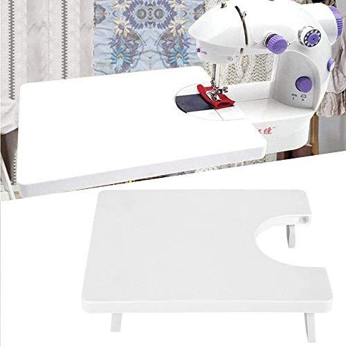 Nynelly - Mesa de extensión de plástico para máquina de coser doméstica