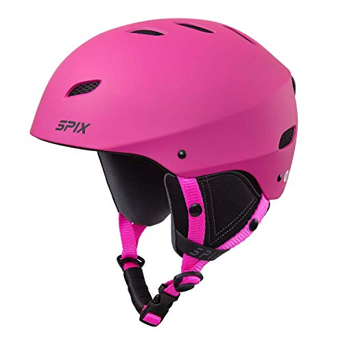 SPIX Ski Helmet Snowboard Helmet - ASTM Safety Certified Size Adjustable for Adults Youth Men and Women