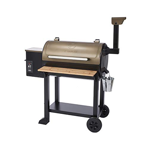 Z GRILLS ZPG-5502G 8 in 1 Wood Pellet Grill Smoker