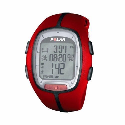 Polar RS200 SD Gesundheitsmonitor rot