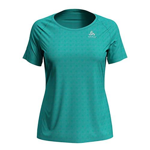 Odlo Damen T-shirt s/s crew neck ESSENTIAL LIGHT, blue radiance, S