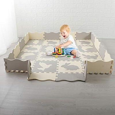 Karamoda US Fast Shipment Foldable Baby Play Ma...