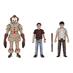 Funko 30012 Figura de acción: It 2017 Paquete de 3: Pennywise, Richie, Eddie Coleccionable, Multicolor 4