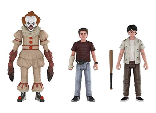 Funko Figura de acción 30012: It 2017, Paquete de 3: Pennywise Richie, Eddie It Collectible, Multicolor