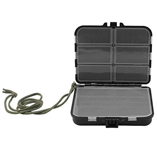 Boîte de rangement multifonction 4 couches en plastique grande boîte de pêche à vis pour pièces de rangement de leurres de pêche Boîte à outils