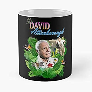 David Attenborough Bbc - 11 Oz Coffee Mugs Ceramic,the Best Gift For Holidays.