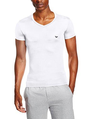 Emporio Armani 110810CC747 Haut de Pyjama, Blanc (Bianco 00010), M Homme