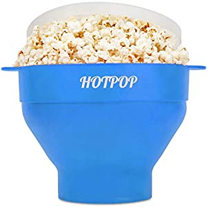 The Original HOTPOP Collapsible Microwave Popcorn Popper