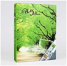 HUI YIJIYI 200 Sheets Season Photo Album Scrapbook Interleaf Type Classical 6 Inch Sping Paper Photo Album Style 1