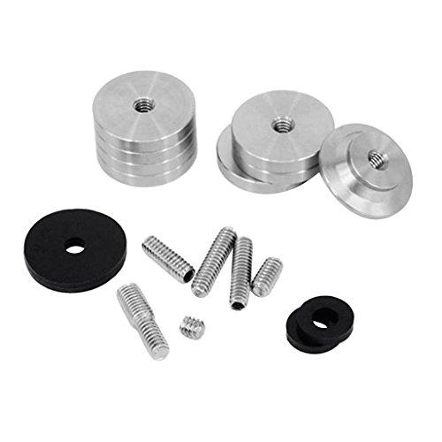 Baoblaze Kit de Alliage d'Aluminium Poids Stabilisateurs pour Équilibre Contrepoids Barre d'Équilibre de Tir à l'arc
