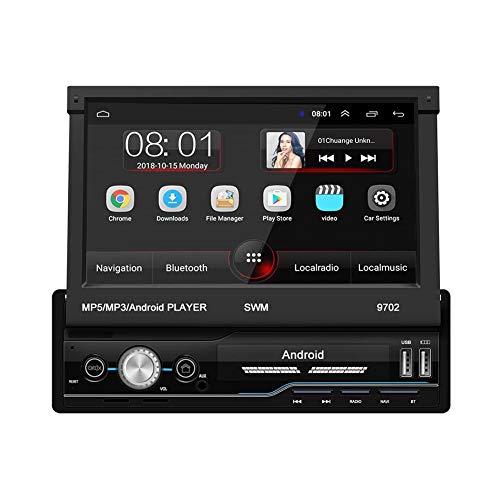 WanNing Navigazione One, Navigazione Dvd Universale per Auto, 7 Pollici Android 8.1 Sistema 16G Memoria HD Touch Screen Bluetooth Stereo Player Navigazione Auto, Navigazione GPS
