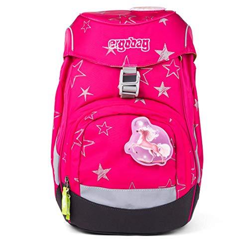 ergobag BTS 19 Kinder-Rucksack, 35 cm, 20 Liter, Pink Stars