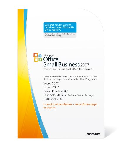 Microsoft Office Small Business 2007 deutsch (Lizenz-Key) [Import allemand]
