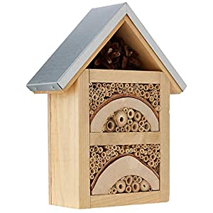 Natures Haven Garden Insect / Bug House With Metal Roof