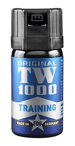 TW1000 Unisex– Erwachsene Inert-Fog Man Pfefferspray, farblos, 85mm