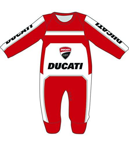 Rosso Pritelli 1856005 Baby Poncho Ducati Corse
