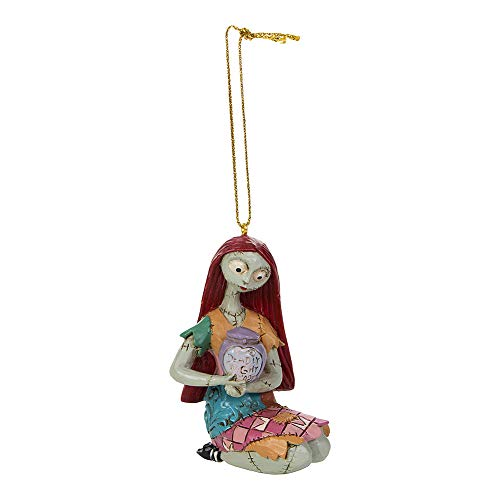 Disney Traditions A30353 Hanging Ornament-Nightmare Before Christmas Sally, Pink/Red/Blue