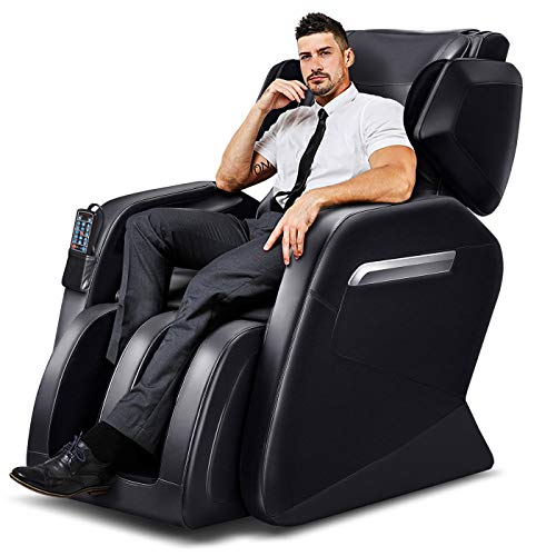 Massage Chair, Zero Gravity Massage Chair, Full Body Massage Chair with Lower-Back Heating and Foot...