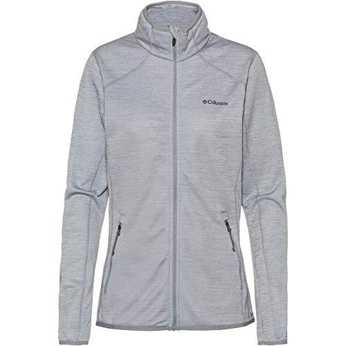 Columbia Sportswear Damen Sapphire Trail Fleece Jacke Fleecejacke, Tradewinds Grey, S