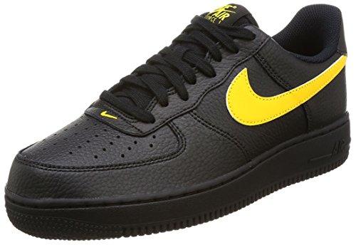 Nike Air Force 1 '07, Zapatillas de Baloncesto Hombre, Negro, 47.5 EU