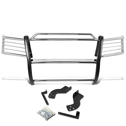 DNA MOTORING GRILL-G-056-SS Front Bumper Brush Grille Guard [for 98-07 Land Cruiser]