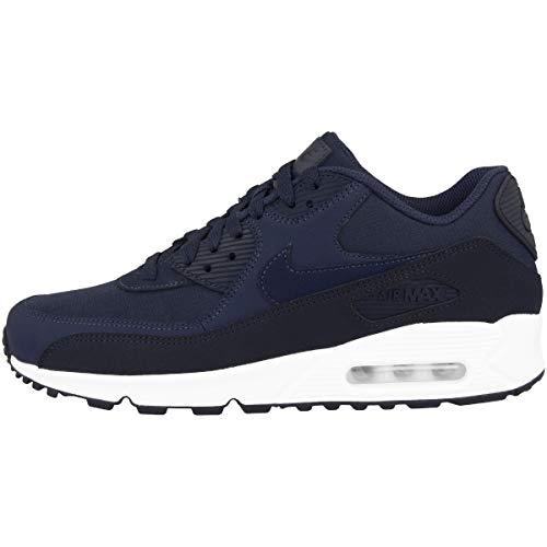 Nike Air Max 90 Essential, Chaussures de Gymnastique Homme, Gris (Obsidiannavywhite 427), 49.5 EU