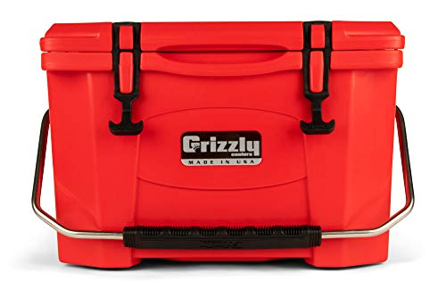 Grizzly 20 Cooler, Red, G20, 20 QT