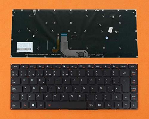 Teclado para PORTATIL Lenovo IdeaPad Yoga 4 Pro 900-13ISK2 ESPAÑOL SIN Marco RETROILUMINADO