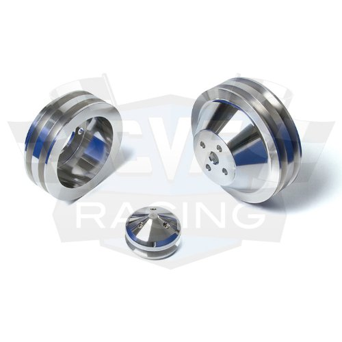 V-Belt Pulley Kit for Small Block Ford - 289, 302, 351W, 351C
