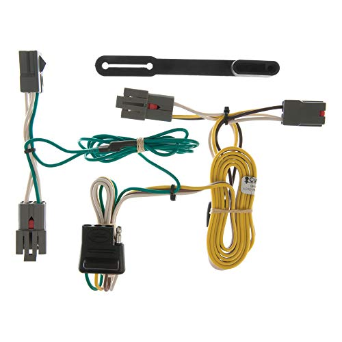 CURT 55326 Vehicle-Side Custom 4-Pin Trailer Wiring Harness, Fits Select Ford...