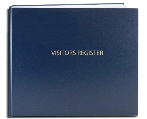 BookFactory Visitor Log Book/Visitor Register/Visitor Sign-in Book -...