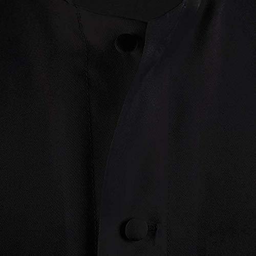 IvyRobes Unisex-Adults Black Roman Pulpit(Clergy) Cassock Black ((6'3
