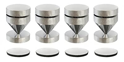 Dynavox HD 919 Sub Watt Absorber Chrome Set of 4 by DynaVox