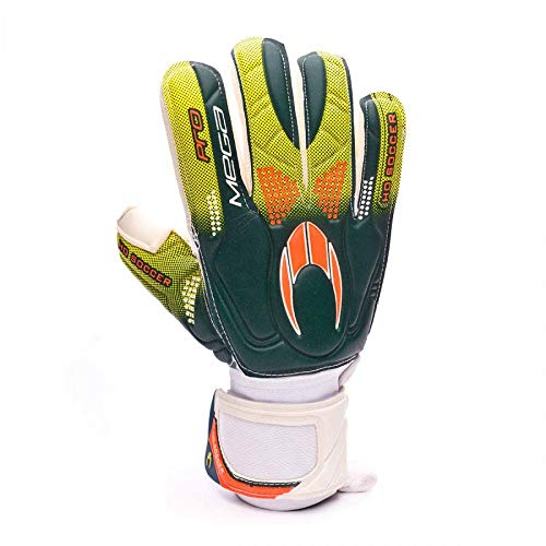 Ho soccer Pro Mega Rollfinger Torwarthandschuh 43 weiß-grün-orange