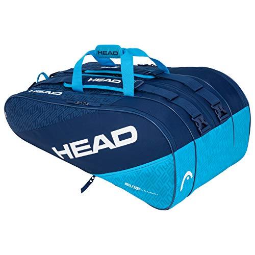 Head Elite 12R Monstercombi Bolsa de Tenis, Adultos Unisex, Navy/Azul